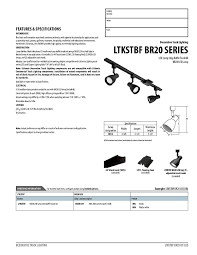 lithonia lighting ltkstbf br20 mw m4 3 light step baffle track kit