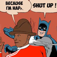 Pharrell Hat Meme - happy pharrell williams happy pharrell pharrell williams and
