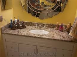 36 Vanity With Granite Top Genesis Granite Bathroom Vanity Top Yellow Tops Countertops Fk