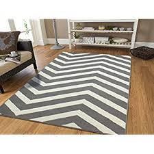 8 11 Rug Amazon Com Century Collection Chevron Rugs Large 8x11 Black And