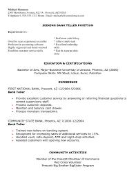 customer service representative bank teller resume sle bank teller resume sle canada summary entry level with no