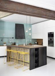 cuisine bleu pastel les cuisines se mettent au bleu visitedeco