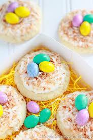 easter sweet sugar cookie bird s nests