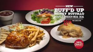 swiss chalet buff d up chicken meal deal