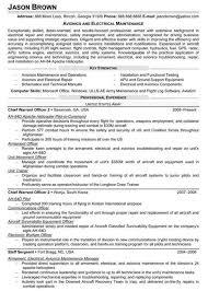 Ct Resume Resume Cv Cover Letter by Avionics Installer Cover Letter