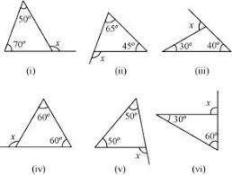 ncert solutions for class 7 maths chapter 6 the triangle and its