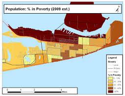 Galveston Island Map Galveston Sdoh Maps