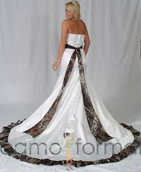 camo and orange wedding dresses pink and white camouflage wedding dresses