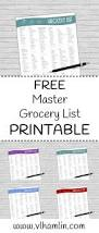 Word Grocery List Template Best 25 Grocery List Printable Ideas On Pinterest Free