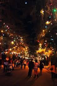 santa rosa christmas lights christmas tree lane altadena california santa rosa avenue between