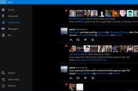twitter for windows 10 updated with new design and latest features