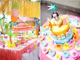 luau theme party aloha hawaiian luau themed birthday party for kids finds