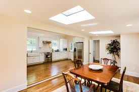 remodelaholic open plan kitchen and dining room home design white