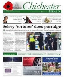 chichester herald issue 113 8th november 2013 by chichester herald