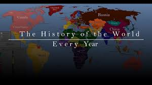 of the the history of the world every year