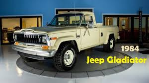 jeep gladiator 1970 1984 jeep pickup ottomobile youtube
