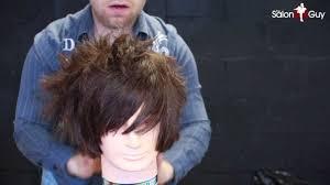 scene or emo haircut tutorial youtube