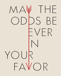 hunger games arrow may the odds be ever in your favor poster