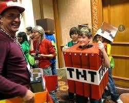 Craft Halloween Costumes 20 Amazing Minecraft Costumes Minecon 2011 Minecraft