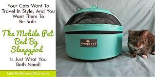 Sleepypod Mobile Pet Bed Sweet Purrfections Truffle Brulee Twitter