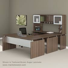 u shaped executive desk medina series straight front executive u shaped desk suite 40