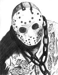 Jason Halloween Mask by Friday The 13th Part 4 Jason Comic Style Colors By Dougsq