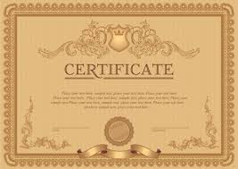 symposium certificate templates certificate template vector for