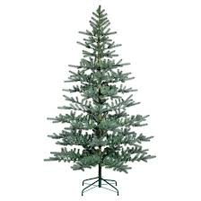 7ft unlit artificial tree blue green balsam fir