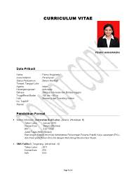 Format Resume Pdf Bahasa Melayu by Contoh Contoh Resume Free Resume Example And Writing Download