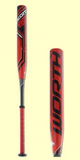 worth legit slowpitch softball bat worth legit 220 greg connell balanced usssa pitch softball
