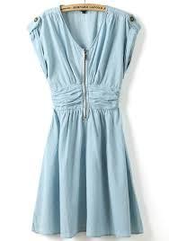 light blue mini dress light blue plain short sleeve wrap mini dress mini dresses dresses