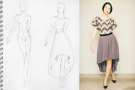 Draped Skirt Tutorial Low Circle Skirt Dress Sewing Project