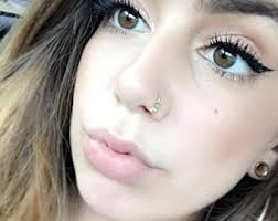 nose rings com images Handmade crystal and stone nose rings by assyriancreations on etsy jpg