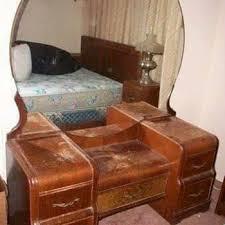Antique Dresser Vanity Cedar Dresser With Mirror Collectors Weekly