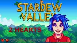 stardew valley emily two hearts cutscene youtube