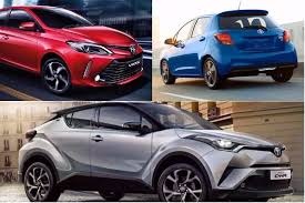 toyota list of cars upcoming toyota cars in india 2017 2018 6 cars