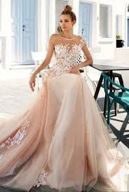 pink wedding dresses beautiful pale pink wedding dresses ideas styles ideas 2018