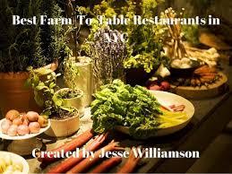 farm to table restaurants nyc williamson best farm to table restaurants in nyc
