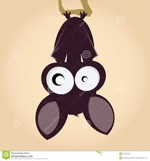 Bat Drawings For Halloween by Cartoon Bat Hanging Stock Photography Image 27332832