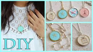 diy picture necklace images Diy necklaces chanel lace starfish paris resin mod podge jpg
