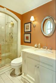 burnt orange paint color to accompany gray white front guest