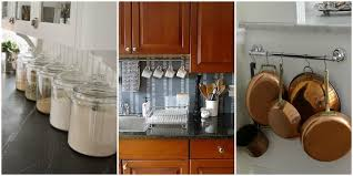 Design For Kitchen Cabinets Design Ideas For Little Counter Space Organizing A Small Kitchen