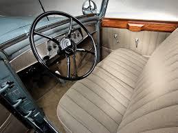 interior 1930 cadillac v16 convertible sedan by saoutchik