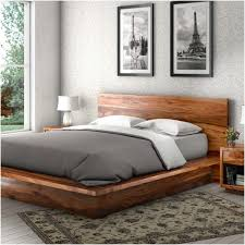 Build Wooden Bed Frame How To Build Wood Platform Bed The Home Redesign