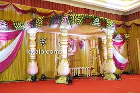 marriage decoration ideal blooms