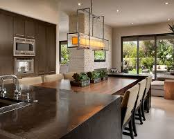 Contemporary Kitchen Columns Kitchen Design Pictures Remodel - Kitchen design with dining table
