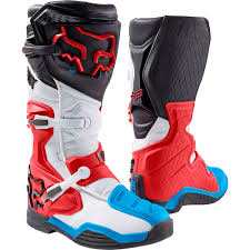 mx racing boots fox racing 2017 mx new comp 8 dirt bike red white black motocross