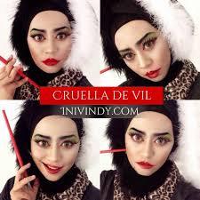 kryolan halloween makeup ini vindy yang ajaib cruella de vil makeup tutorial