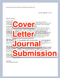 writing a journal cover letter free template aje