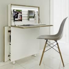 bureau secretaire moderne petit bureau gain de place 25 modèles pour votre ordinateur joli